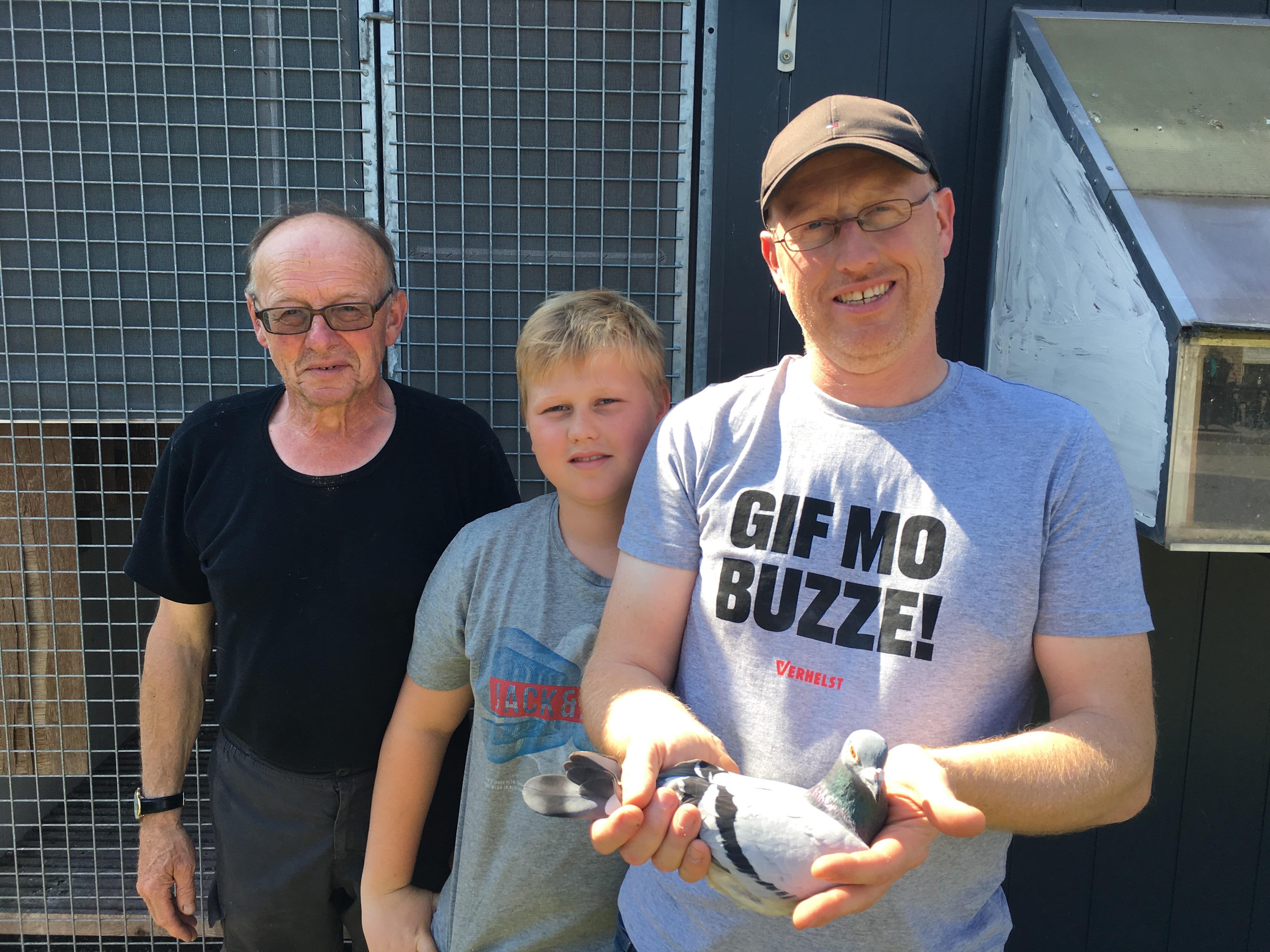 David(rechts)Vater Filip (links) & Sohn Milan